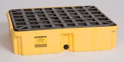 1 Drum Modular Platform - Yellow w/ Drain