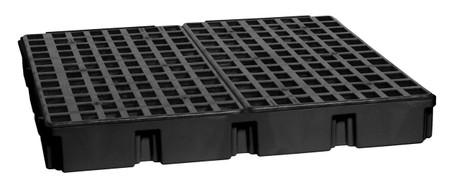 4 Drum Modular Platform - Black w/Drain