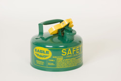 Metal - Green (Oils or Combustibles) - 1 Gal.