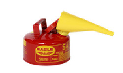 Metal - Red w/F-15 Funnel - 1 Gal.