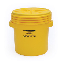 20 Gal. Lab Pack w/Screw Top Lid, Yellow