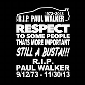 Paul Walker Tribute pack DONATION