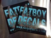 Fatboy Decals 4x4 Slaps