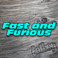 FAST AND FURIOUS FONT