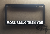 more balls than you plate