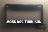 More ass than Kim plate