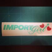 Import Girl <3
