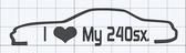 I heart my 240sx