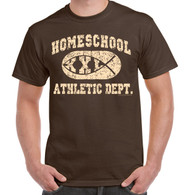 Chocolate Brown - Homeschool Athletic Dept.
