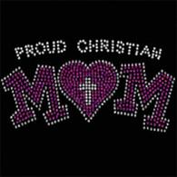 Christian Mom Rhinestud (Standard)
