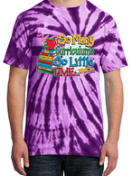 Purple Tie-Dye - So Many Curriculums So Little Time Shirt