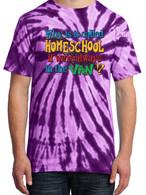 Purple Tie-Dye - Why is it called homeschool if we're always in the van?