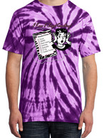 Purple Tie-Dye - I Knew I Forgot Something Shirt