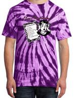 Purple Tie-Dye - I Knew I Forgot Something Shirt