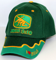 """John Deere Green"" John 3:16 Hat"