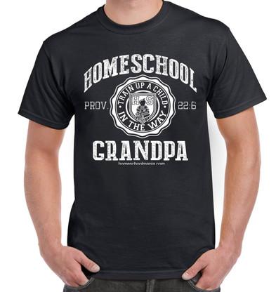 Homeschool Grandpa - Black