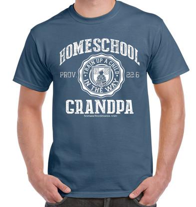 Homeschool Grandpa - Indigo Blue