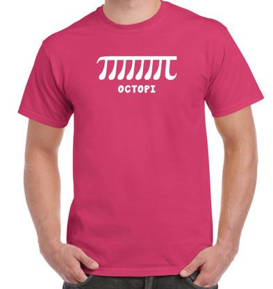 Octopi Shirt - Dark Pink