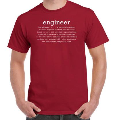 Engineer - Cardinal Red