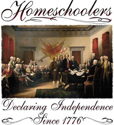 Homeschoolers Declaring Independence T-Shirt