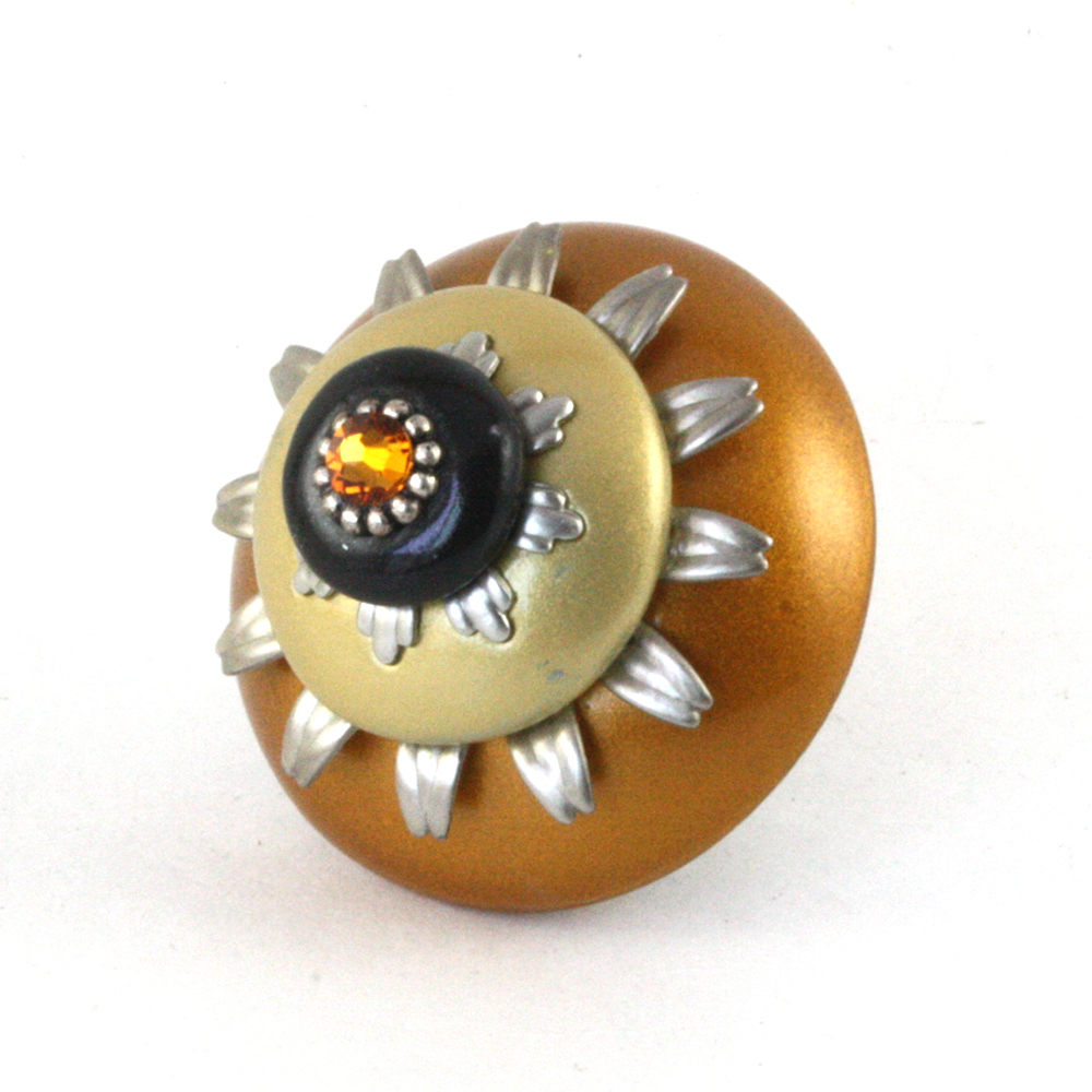 Mini Sunflower Knob 2 in. Diameter