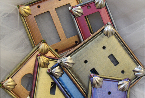 fancy switch plates - Decorative Outlet Covers