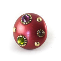 Mini Style #6G Knob Ruby 2 In.