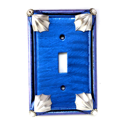 Cleo Single Toggle Switch Cover Lapis