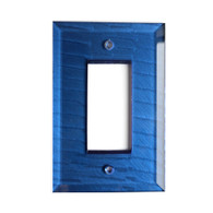 Lapis Glass Single Decora Switch Cover