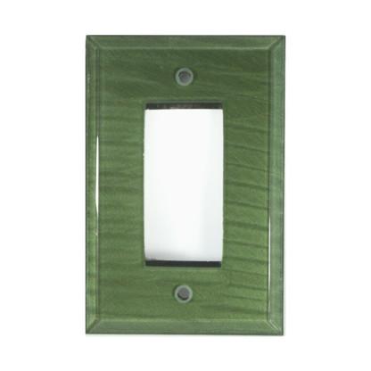 Emerald Glass Single Decora Switch Cover