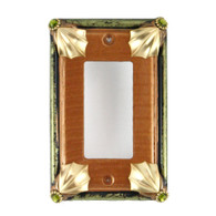 Cleo Amber Single Decora Switch Cover