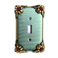 Bloomer Ivy Single Toggle Switch Cover