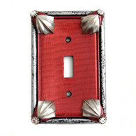 Cleo Ruby Single Toggle Switch Cover