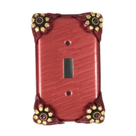 Bloomer Poppy Single Toggle switch cover