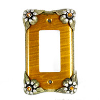 Bloomer Sunflower Single Decora Switch Cover