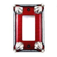 Cleo Ruby Single Decora Switch Cover