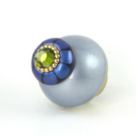 Nu Tiki Knob Light Sapphire 1.5 Inches Diameter