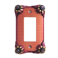 Bloomer Poppy Single Decora Switch Cover