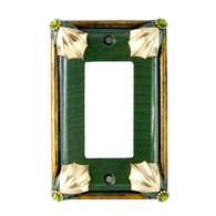 Cleo Single Decora Switch Cover Emerald