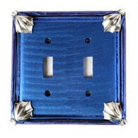 Cleo Lapis Double Toggle Switch Cover