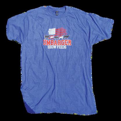 Umbarger Show Feeds Patriotic Shirt