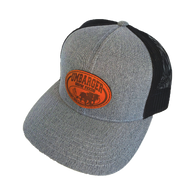 Leather Patch Umbarger Show Feeds Hat
