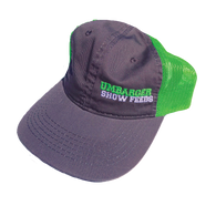 Neon Green Umbarger Show Feeds Hat
