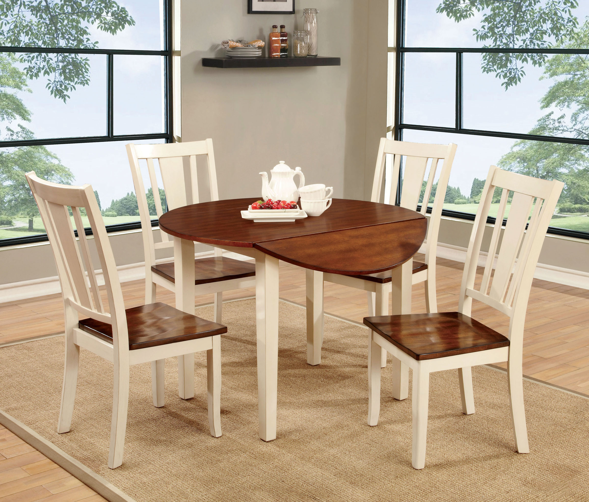 Picture of: What Is A Dining Table Extension Leaf