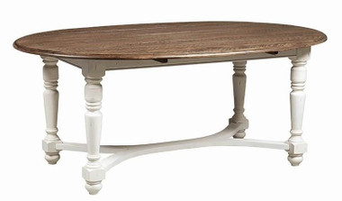 Coaster 105180 Oval Two-Tone Table