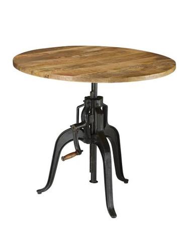 Coaster Furniture 122221 Adjustable Round Table