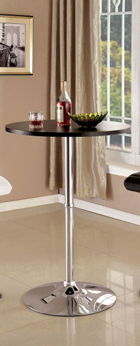 Furniture of America BT6150 Round Pub Table in Black