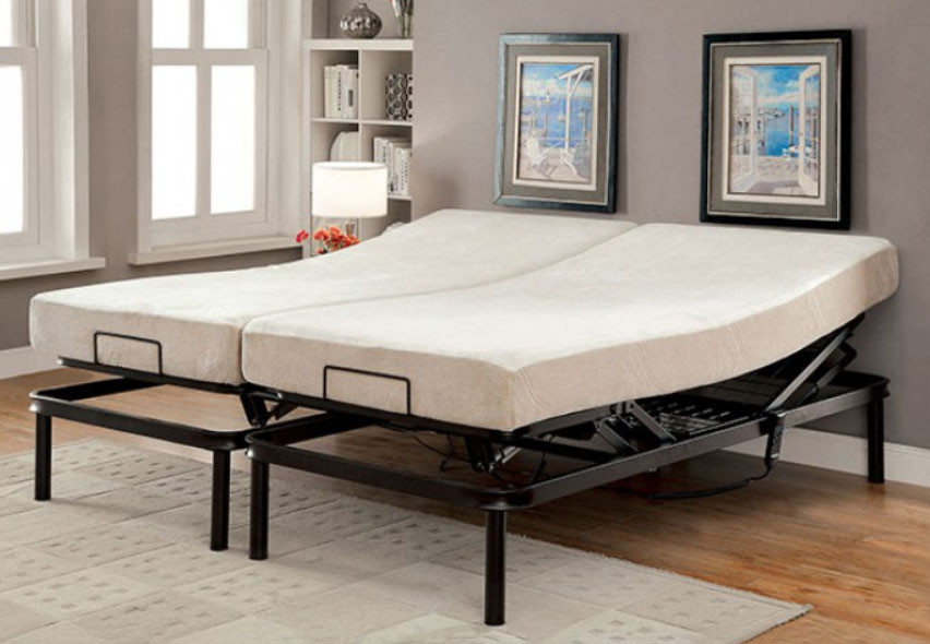 Adjustable Bed Frame Motor : Dreamax king adjustable bed frame with motor