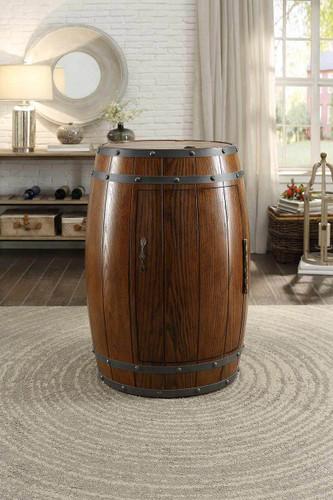 Homelegance 4520 Cabernet Wine Barrel Refrigerator | Cabernet Collection Barrel Wine Refrigerator