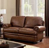 CM6318 Brown Love Seat